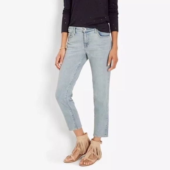 f37bcb699587 J Brand Denim - J Brand • Cropped Ellis Straight Leg Jeans Lovecat